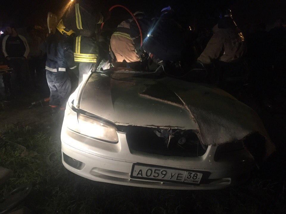 Три человека пострадали вДТП вИркутске