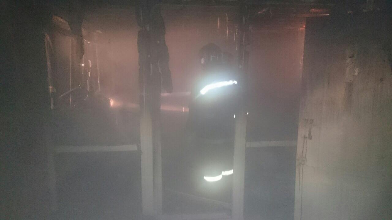 47-летний мужчина умер в пожаре в офисе на улице Розы Люксембург