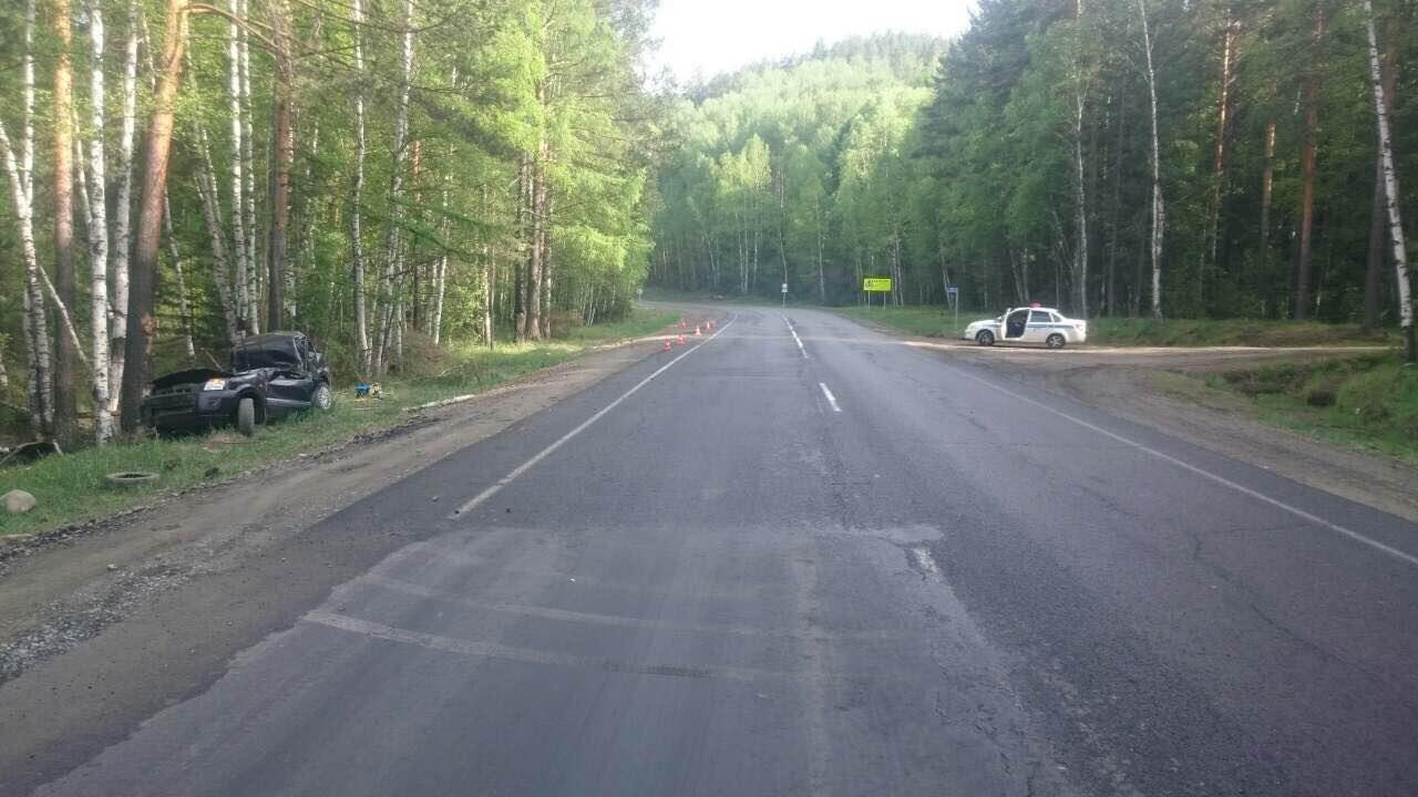 Два человека погибли вДТП натрассе «Байкал»