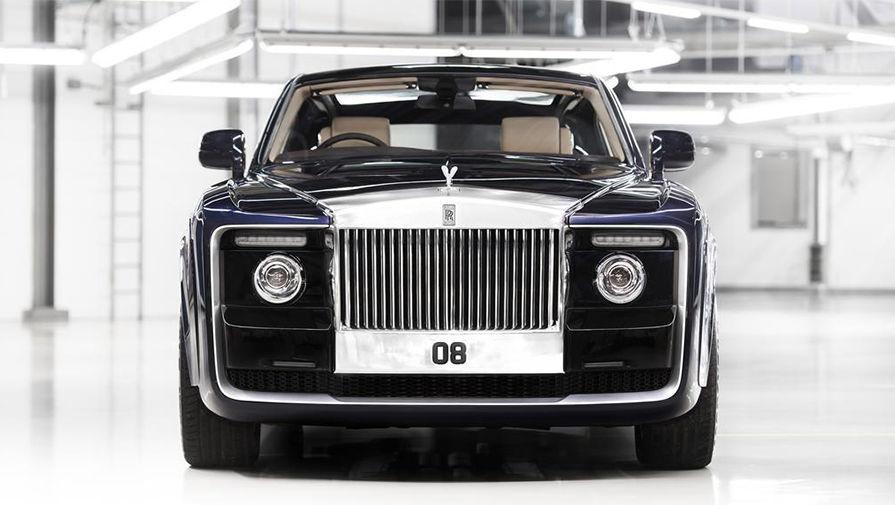 Роллс Ройс презентовал самую дорогую машину вмире