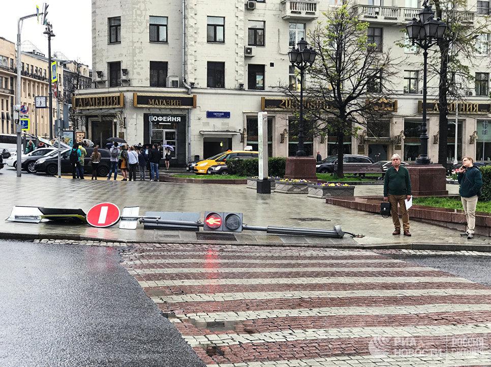 Ужасный шторм в столицеРФ погубил шесть человек